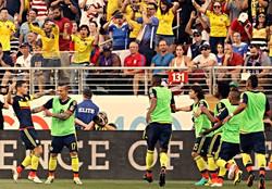 Colombia 2  Vs U.S.A. 0