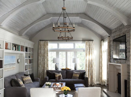 How to make a design statement with the 'fifth wall': Your ceiling