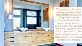 9 Ways to Make Your Bathroom Feel Bigger
