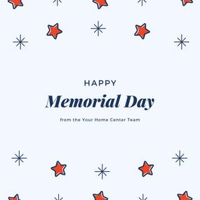 Happy Memorial Day, 2019