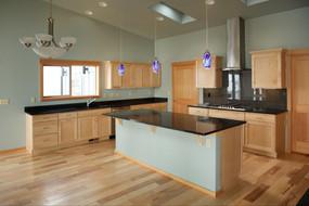Custom Home Kitchen Design Trends: Black Counters