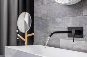 Black Fixtures Are Among the Hottest Current Bathroom Trends