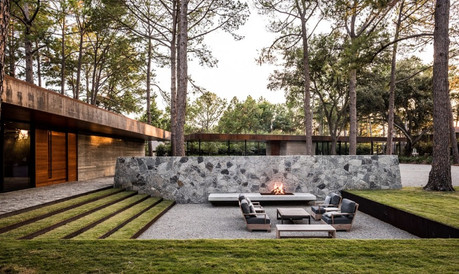 FIRE PITS AND FANCY RAILINGS ARE TRENDING