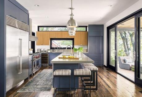 Black window frames popular design choice on homes