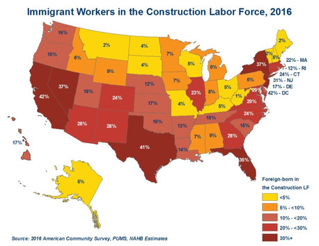ICE TAKES AIM AT CONSTRUCTION'S IMMIGRANTS