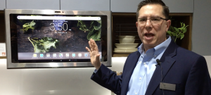 GE Appliances Launches Kitchen Hub Smart Home Command Center at IBS [Video Demo]