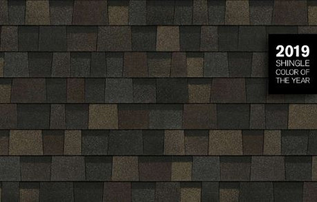"OWENS CORNING INTRODUCES ""BLACK SABLE"" AS 2019 SHINGLE COLOR OF THE YEAR"
