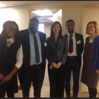 Fairfax Young Democrats at VAYD Lobby Day in Richmond