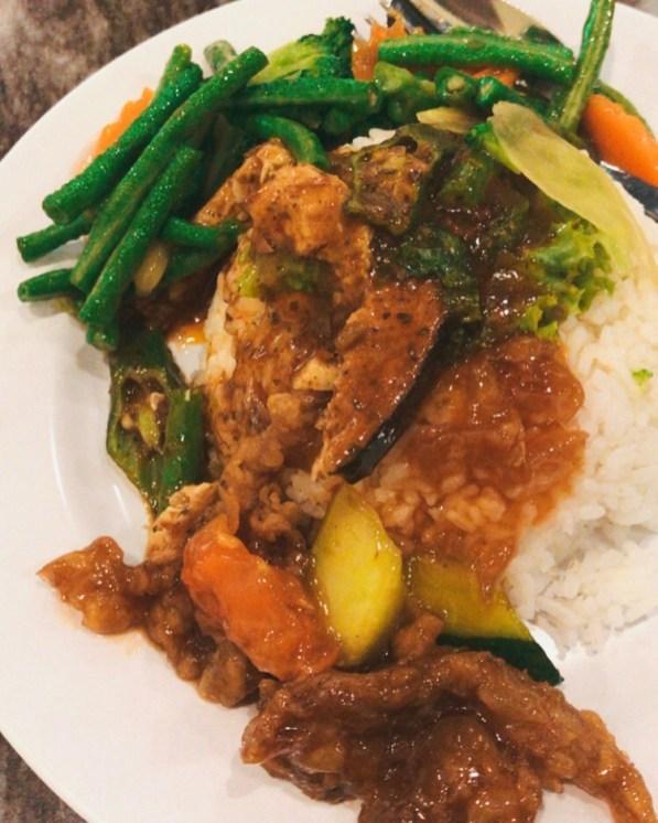 mixed rice veg