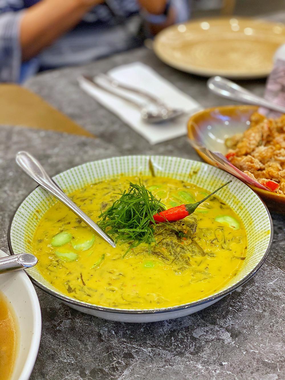 tempoyak with petai