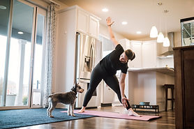 pilates yoga at home
