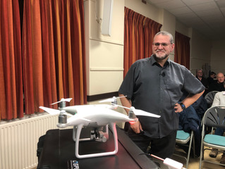 Droning On - A talk by Rob Barron