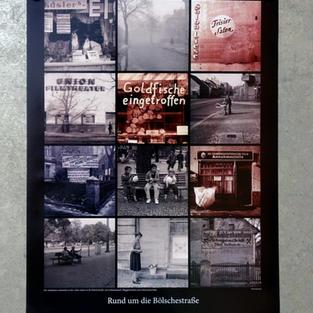 """Plakat """"Rund um die Bölsche"""""""