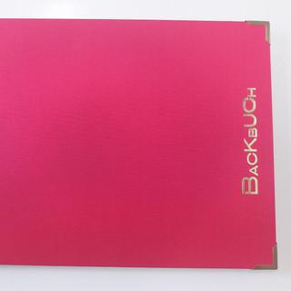 Backbuch pink