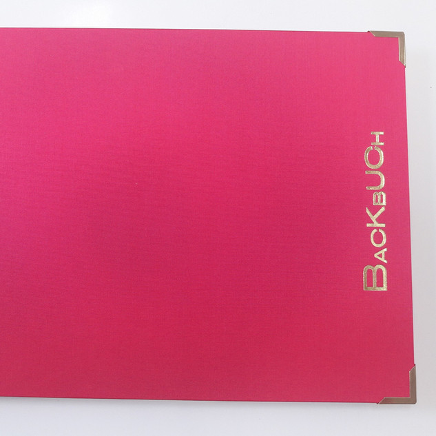 Backbuch pink