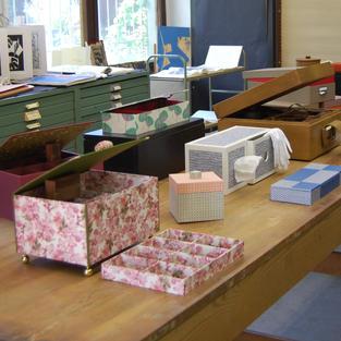 Handgefertigte Kisten