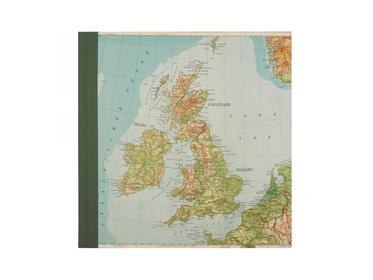 Fotoalbum Alte Landkarte