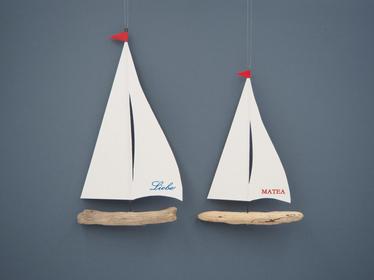 Segelschiffchen personalisiert