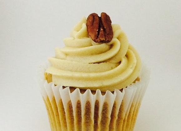Apple Pecan Cupcake