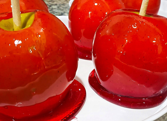 Cherry Candy Apples