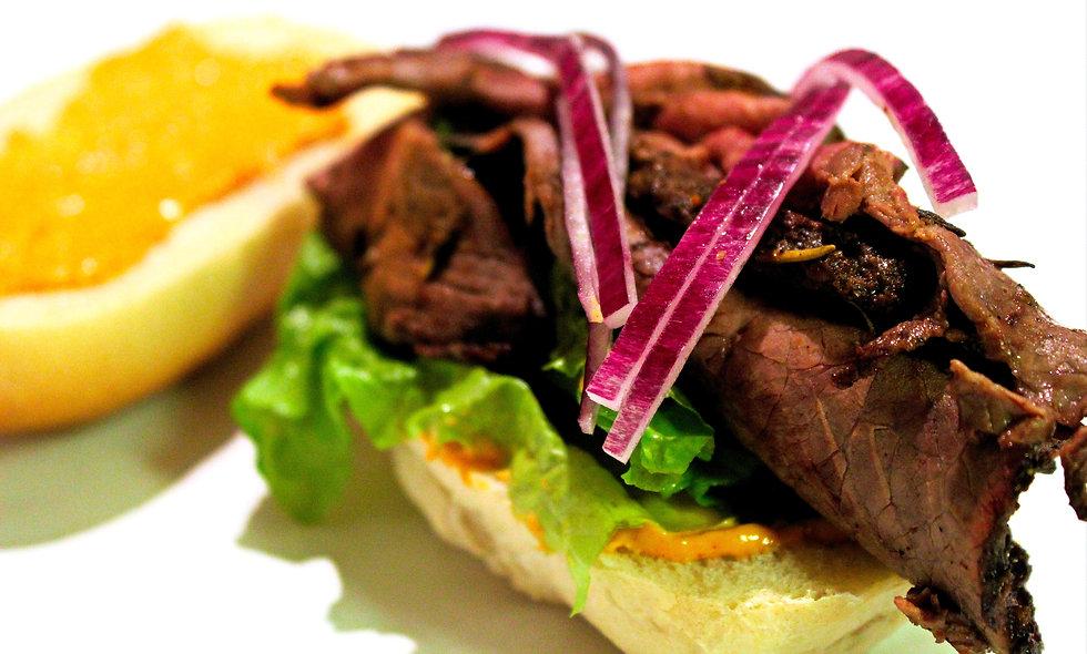 Roast Beef Croissant Sandwich
