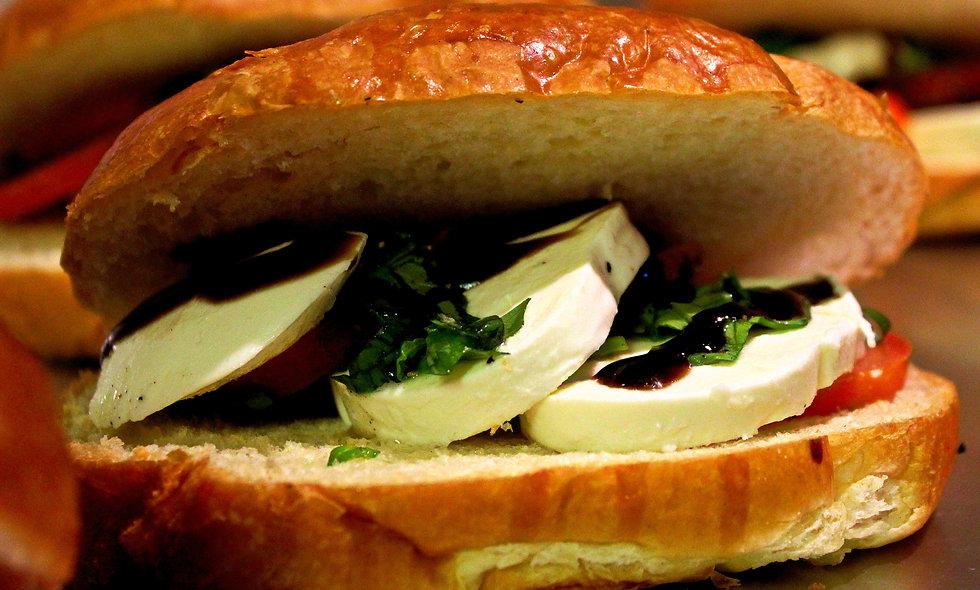 Caprese Croissant Sandwich