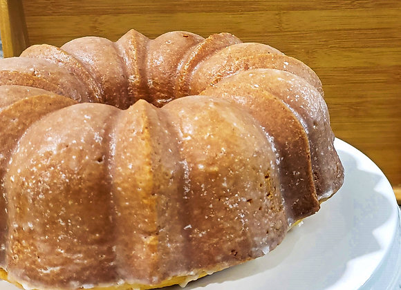 Lemon Pound Cake with a Lemon Glaze