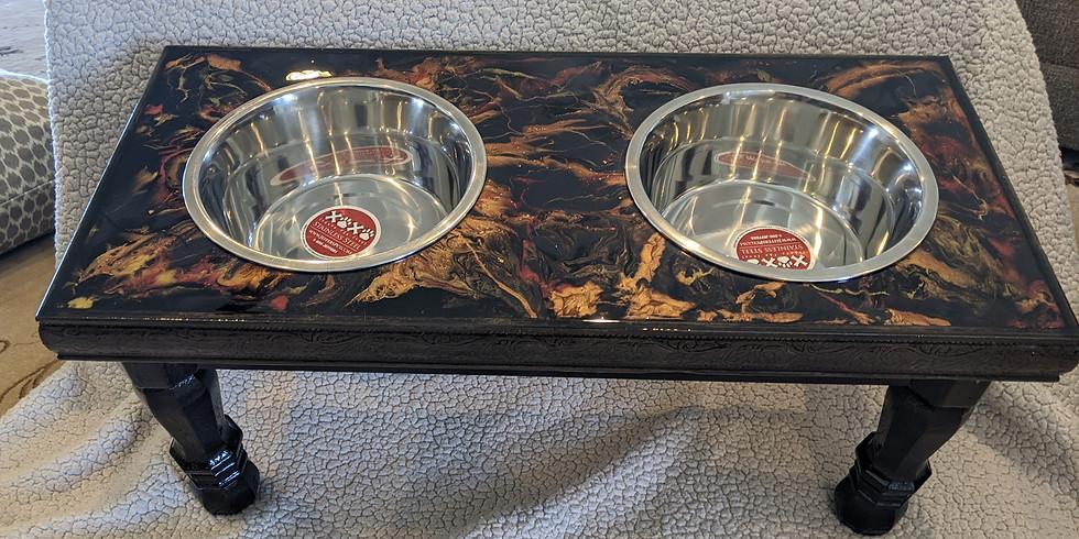 Custom Dog Bowl Raffle