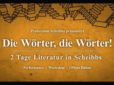 Die Wörter, die Wörter! 2 Tage Literatur in Scheibbs
