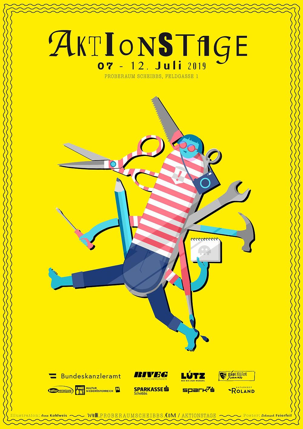 Illustration: Anna Kohlweis, Postergestaltung: schorschfeierfeil