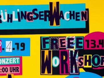 Proberaum Frühlingserwachen – Konzert, Fest und Workshops!