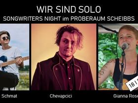 """""""Wir sind solo"""" - Songwriter's Night im Proberaum"""