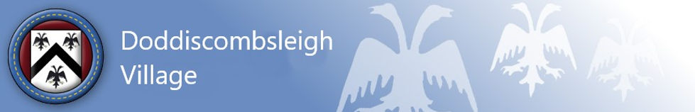 Header image for Doddicsombsleigh web site