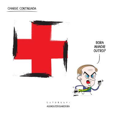 SomosTodosAroeira #chargistascontracensura