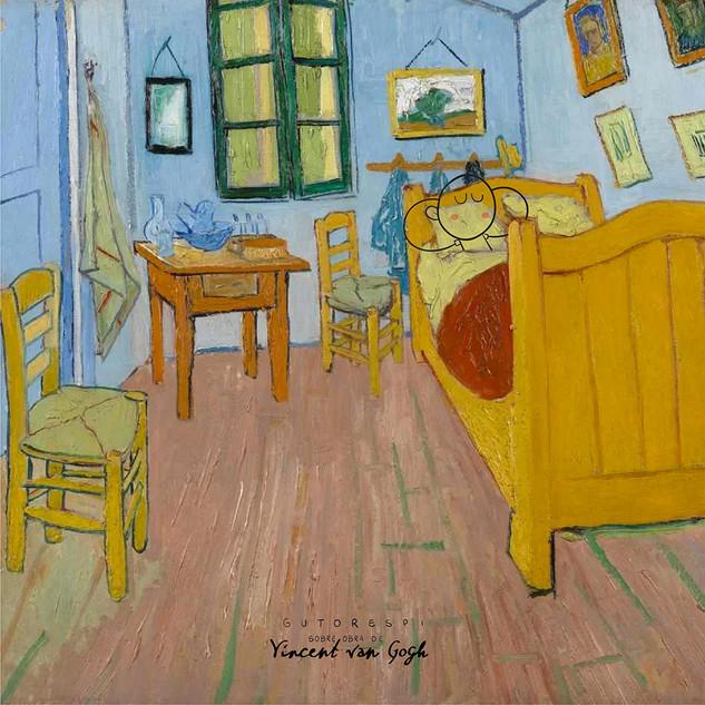 vincent van gogh . the bedroom