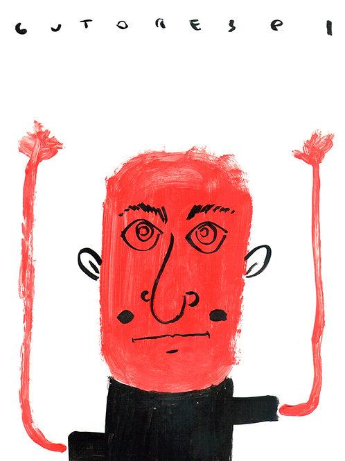 Nanquim Acrílica Red