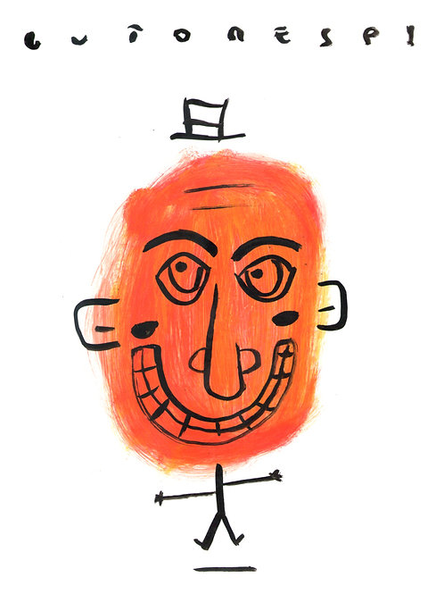 Nanquim Acrílica Orange
