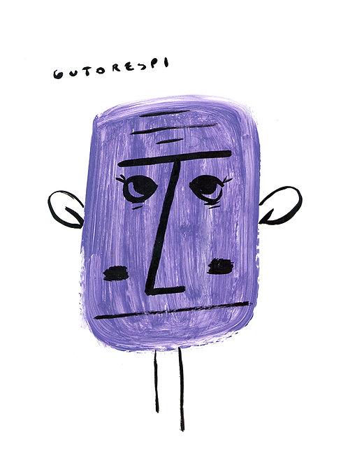 Nanquim Acrílica Purple