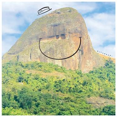 pedra dois olhos, vitória es. brasil
