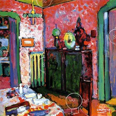 kandinsky . my dining room