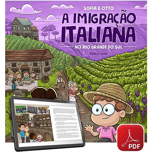 Livro digital (PDF) - Sofia e Otto: a Imigração Italiana no Rio Grande do Sul