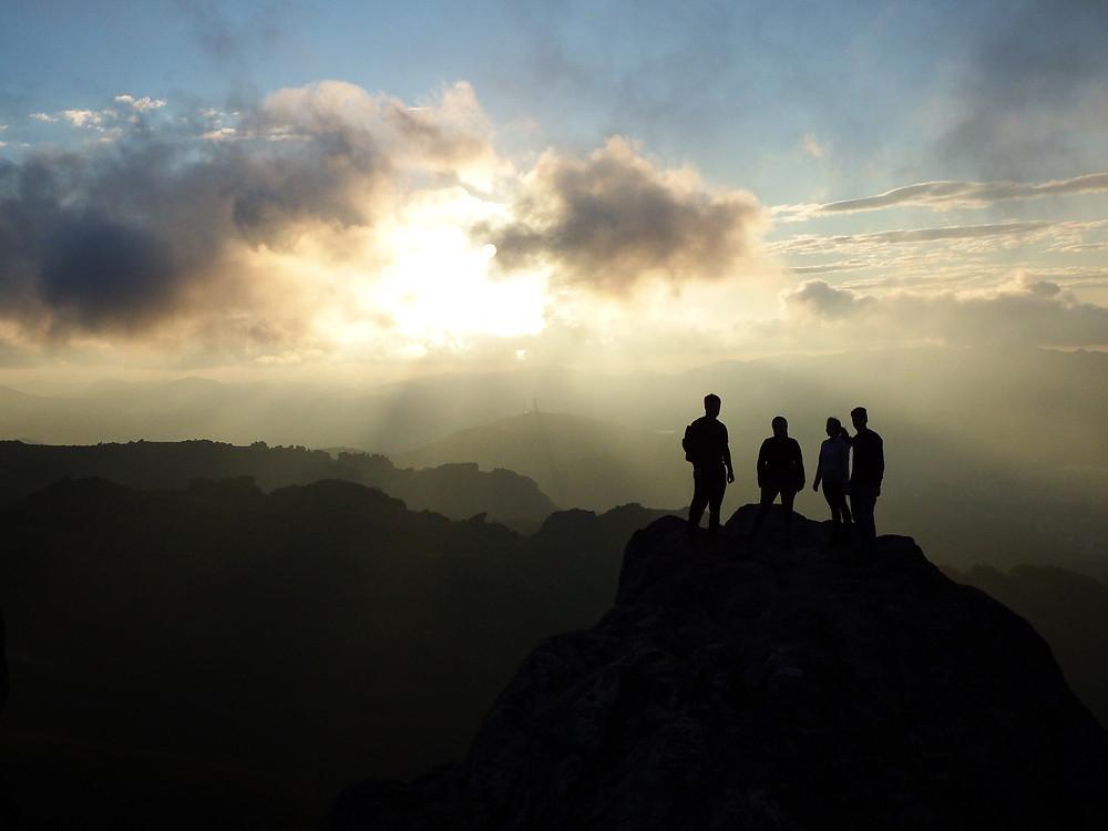 Pico do Itacolomi Por do sol
