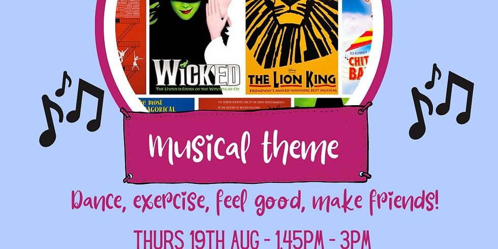 musical theme thurs 19th Aug