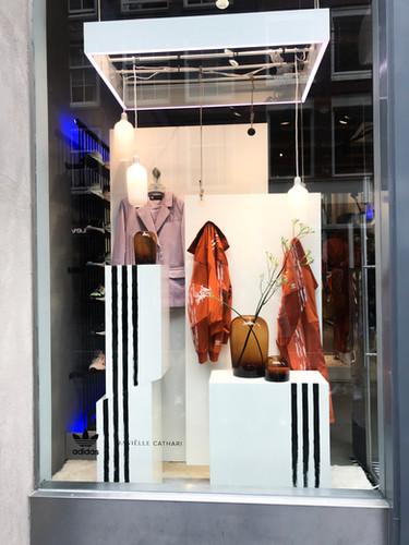 Adidas x Daniëlle Cathari | Window display