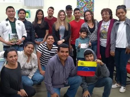 Os migrantes venezuelanos em Foz do Iguaçu, Paraná