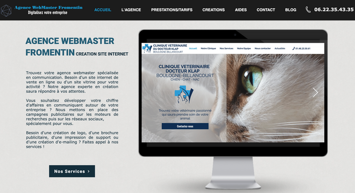 Agence WebMaster Fromentin