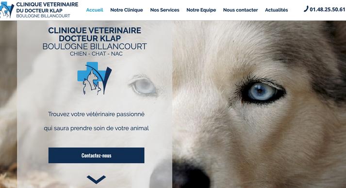 Site Vétérinaire Boulogne-Billancourt