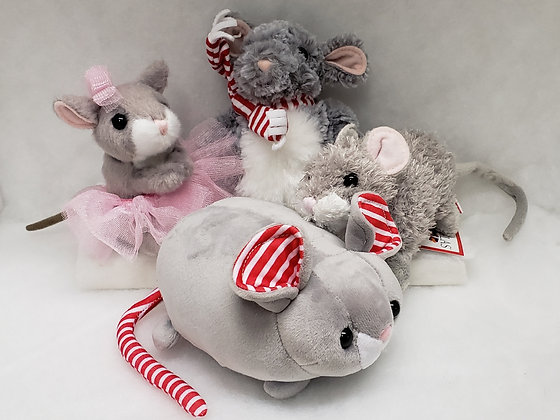 Assorted Plush Mouse