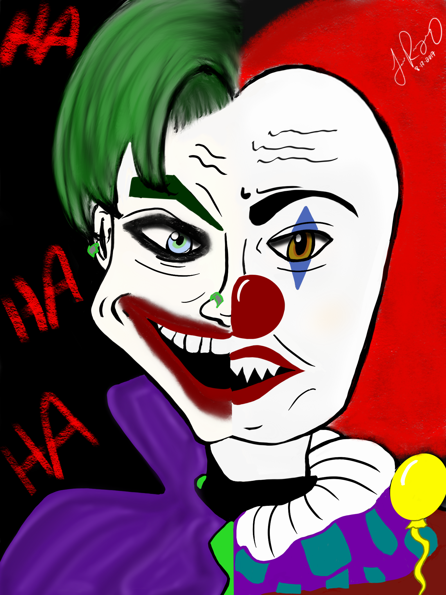 Joker ad Pennywise (IT)