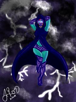 Ashrah - Cosmic Warrior
